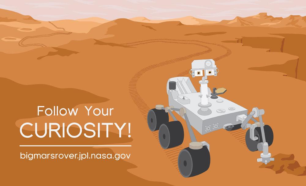 curiosity mars rover clip art - photo #10