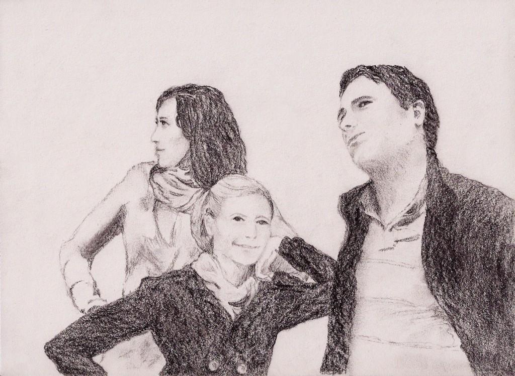Tyrolean trio